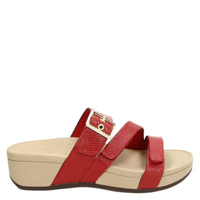 Vionic dames slippers rood