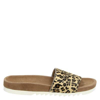 Maruti dames slippers bruin