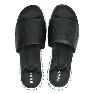 DKNY dames slippers zwart