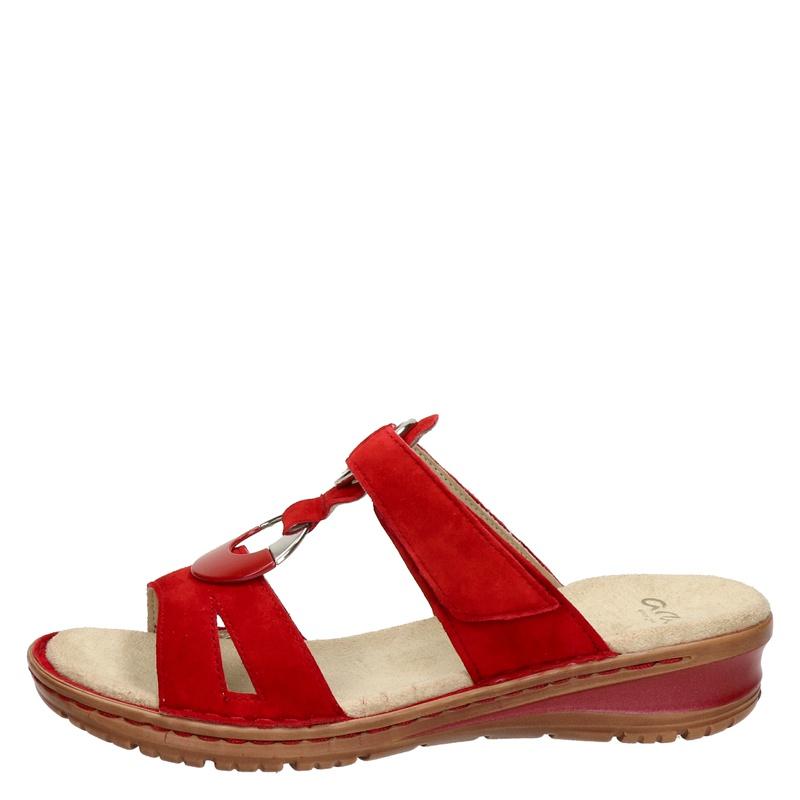 Ara - Slippers - Rood