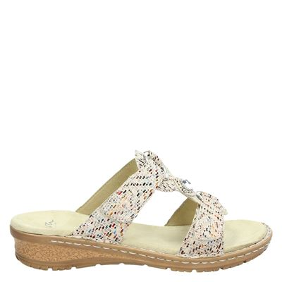 Ara dames slippers beige