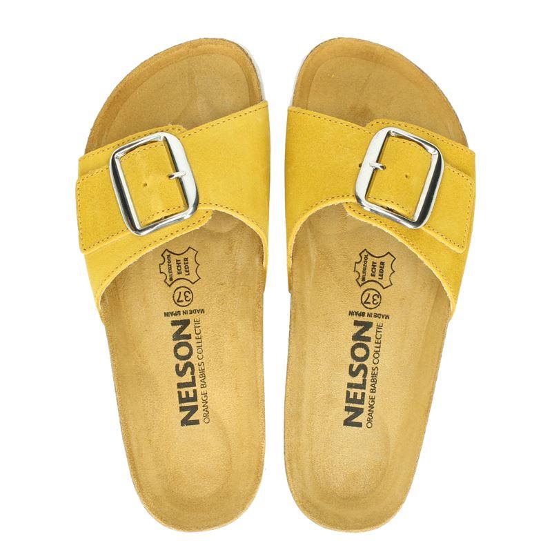 Nelson - Slippers - Geel