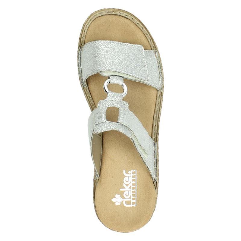 Rieker - Slippers - Zilver