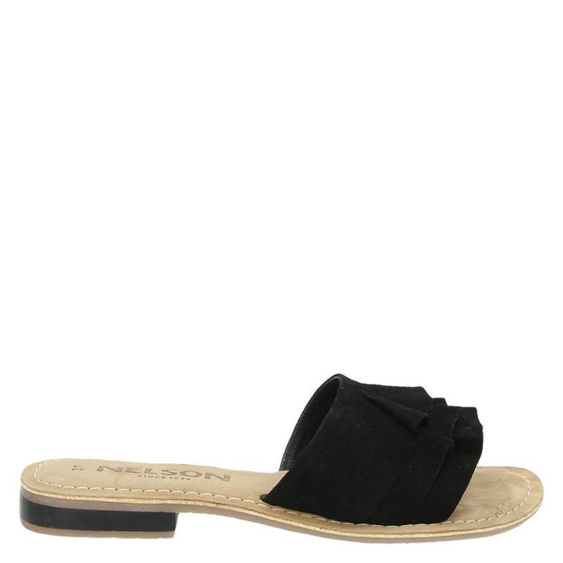 Nelson Donda - Slippers - Zwart