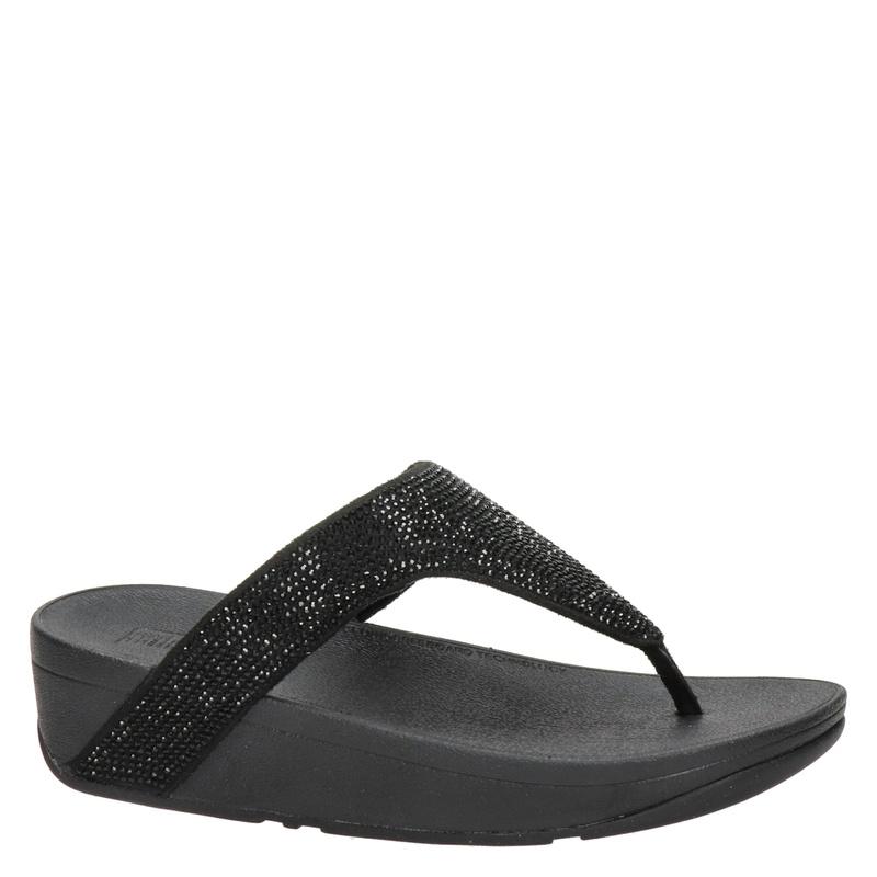 Fitflop Lottie Shimmer - Slippers - Zwart