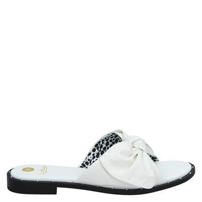 La Strada dames slippers wit