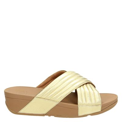 Fitflop dames slippers goud