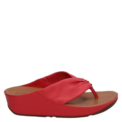 Fitflop dames slippers rood