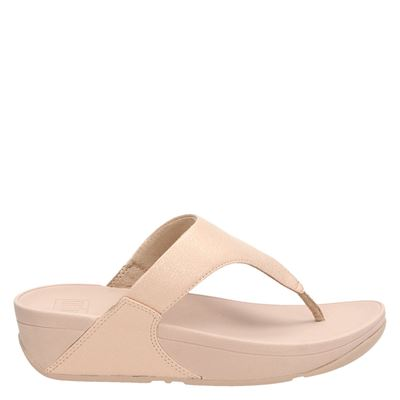 Fitflop Lulu Shimmer Toe Pose - Slippers