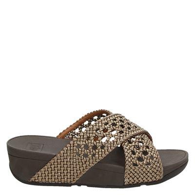Fitflop dames sandalen brons