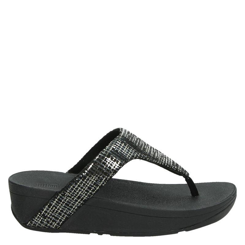 Fitflop Lottie Chain Print - Slippers - Zwart