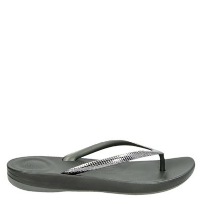 Fitflop Iqushion Ergonomic - Slippers - Grijs