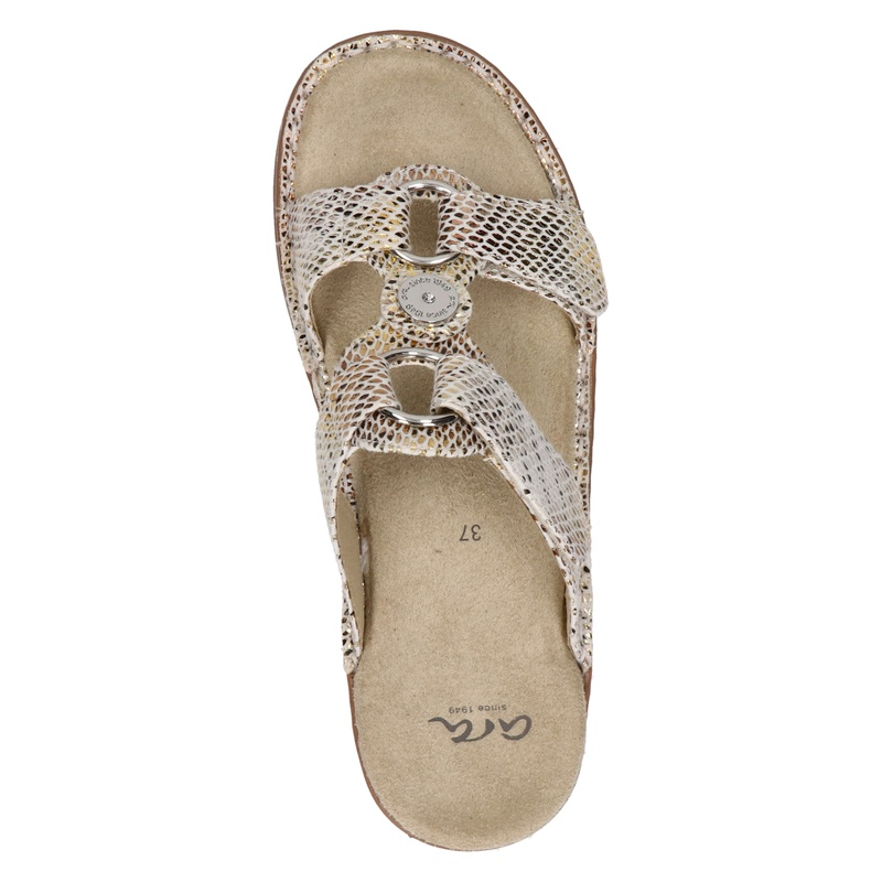 Ara - Slippers - Goud