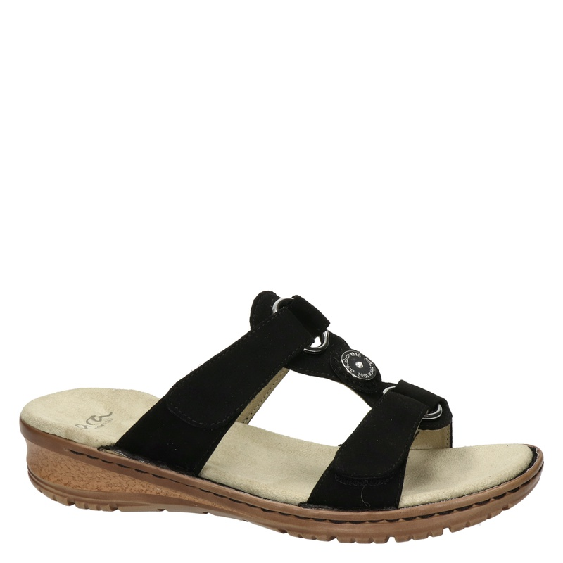 Ara - Slippers - Zwart