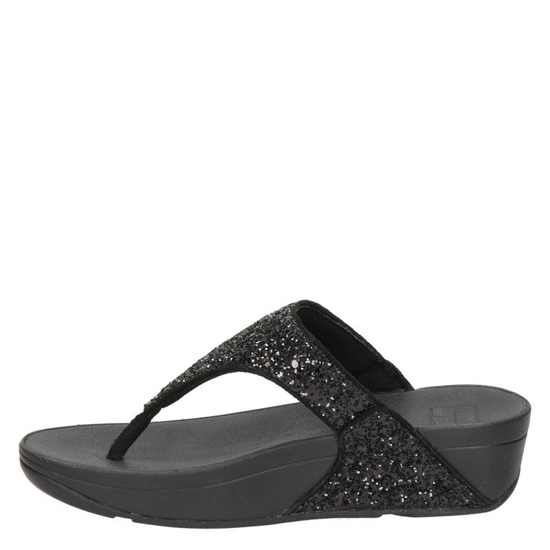 Fitflop Lulu Glitter - Slippers - Zwart