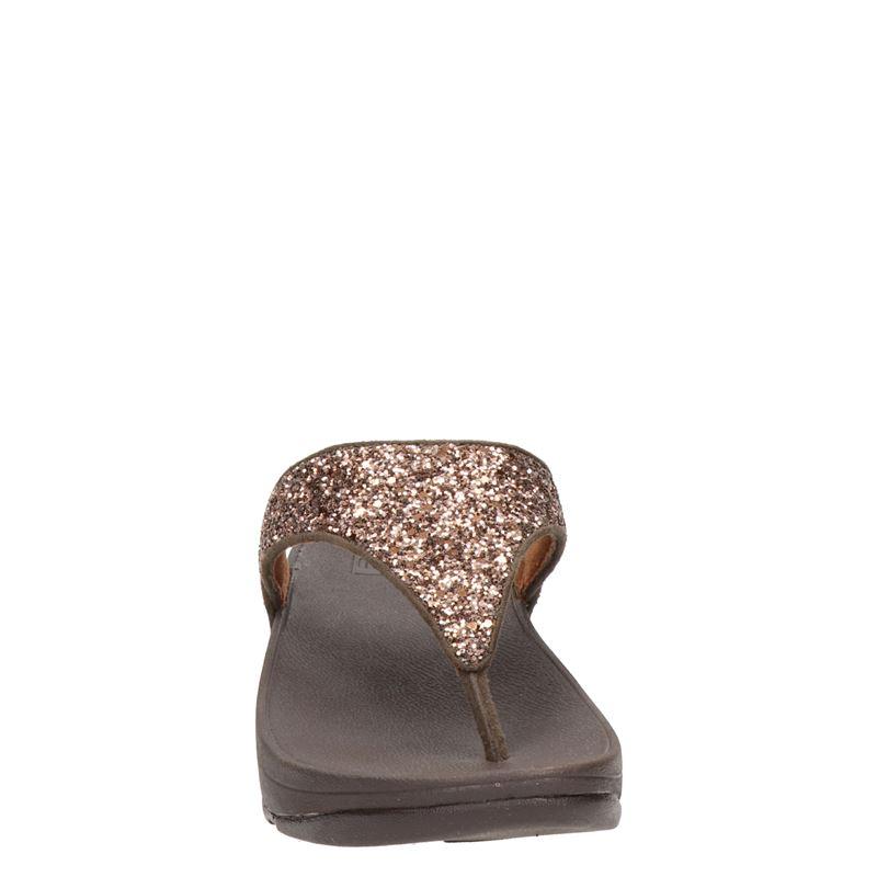 Fitflop Lulu Glitter - Slippers - Brons