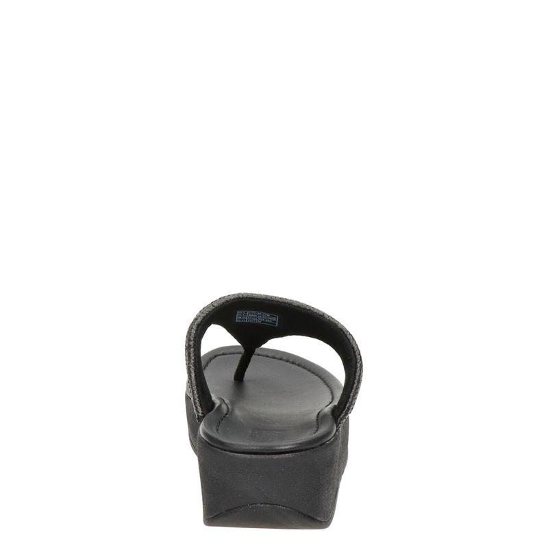 Fitflop Imogen Basket Weave - Slippers - Zwart