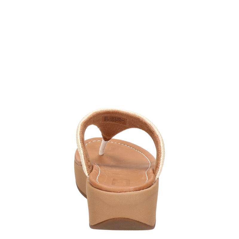 Fitflop Imogen Basket Weave - Slippers - Ecru