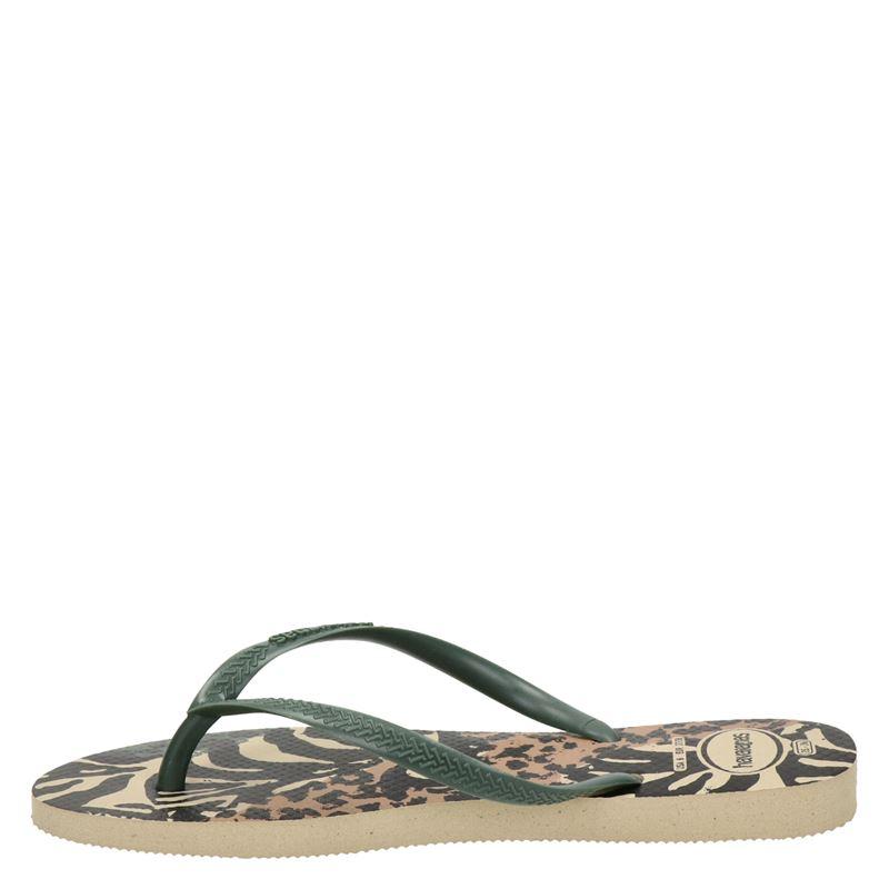 Havaianas Animal - Slippers - Groen