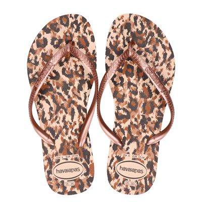 Havaianas Animal - Slippers - Rose goud