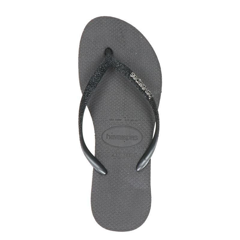 Havaianas Slim Sparkle - Slippers - Zwart