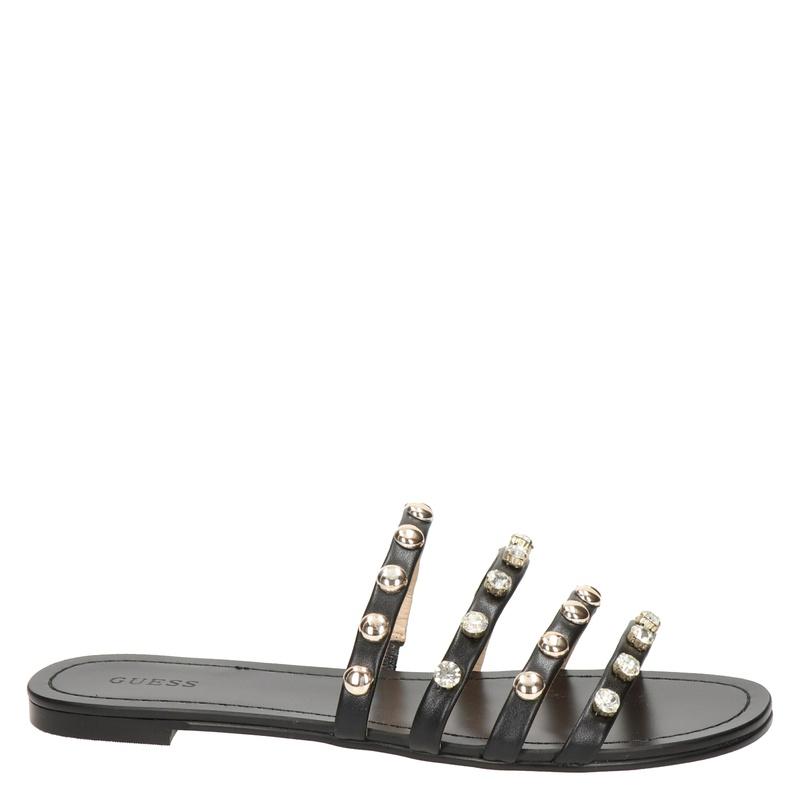 Guess Cevan - Slippers - Zwart