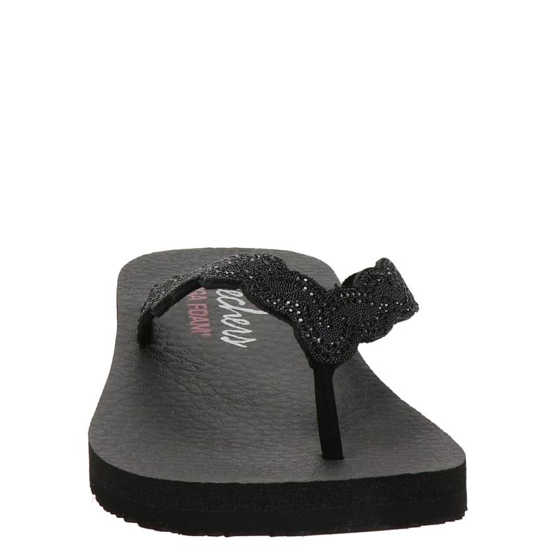 Skechers Meditation - Slippers - Zwart