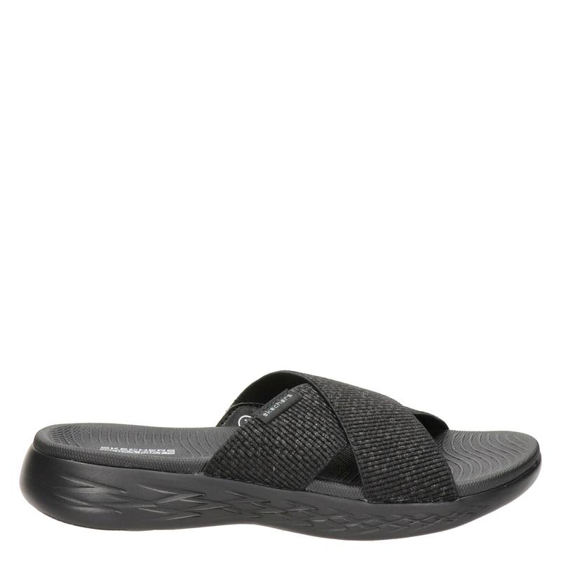 Skechers Go Walk - Slippers - Zwart