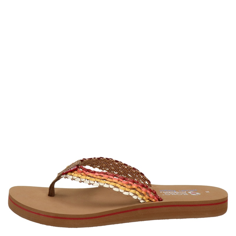 Bobs Sunset - Slippers - Rood