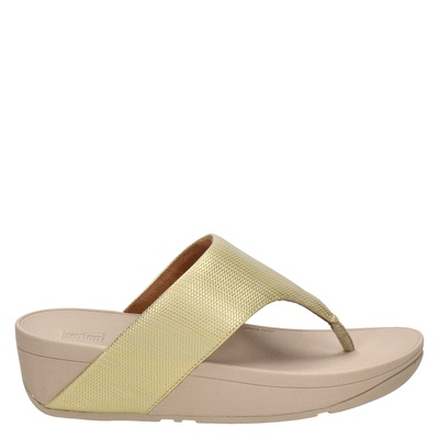 Fitflop Olive Textured Glitz - Slippers