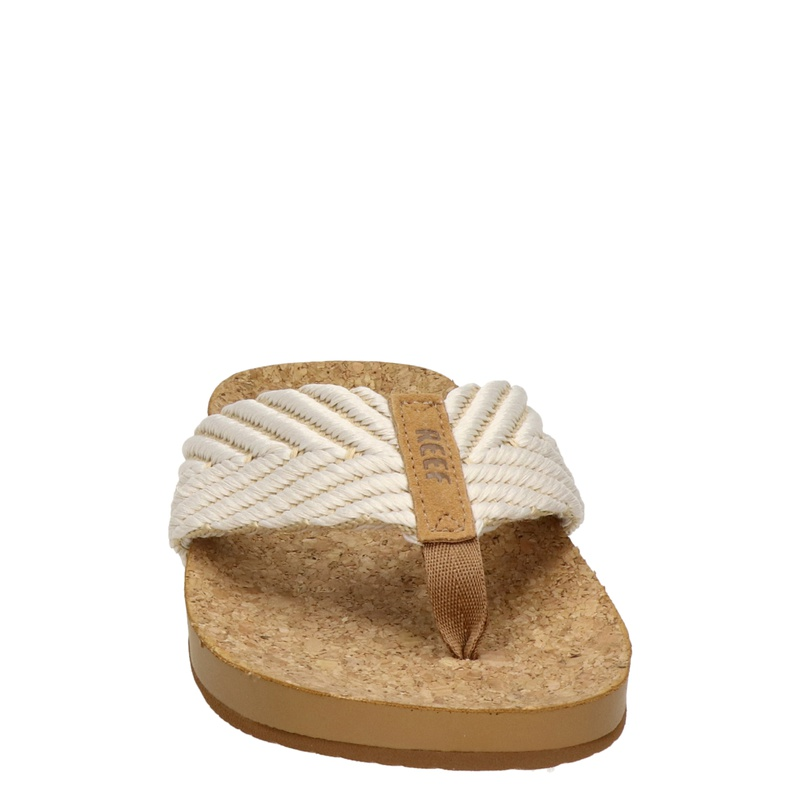 Reef Cushion Strand - Slippers - Ecru