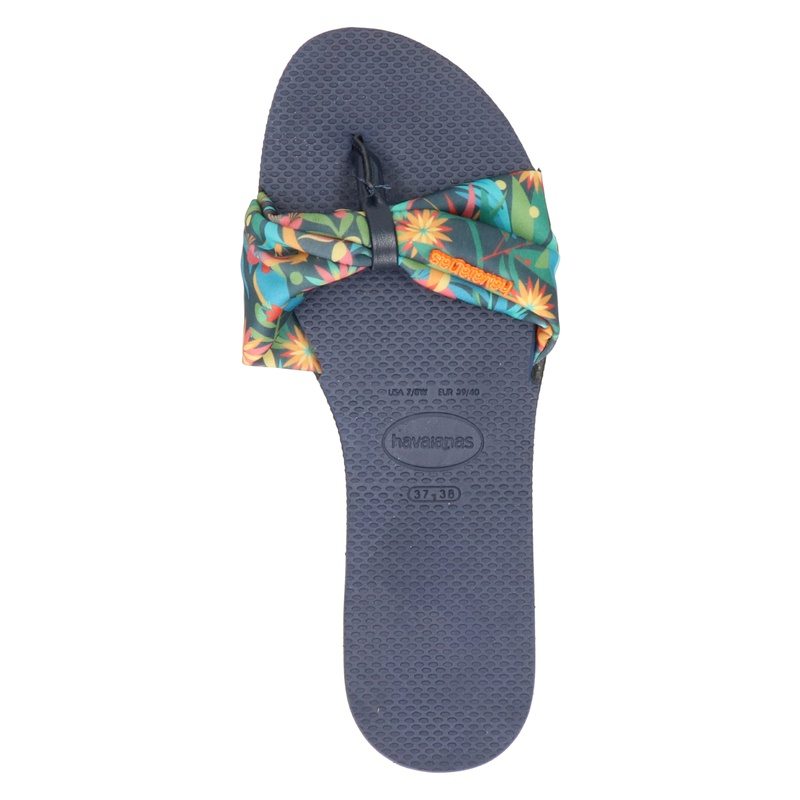 Havaianas You Saint Tropez - Slippers - Blauw