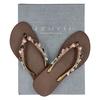 Uzurii Heart Bronze - Slippers - Bruin