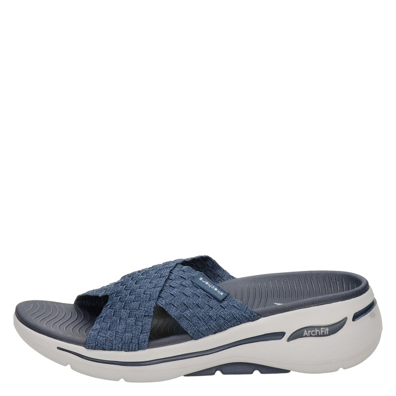 Skechers Arch Fit - Slippers - Blauw