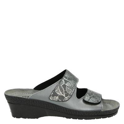 Rohde dames pantoffels grijs