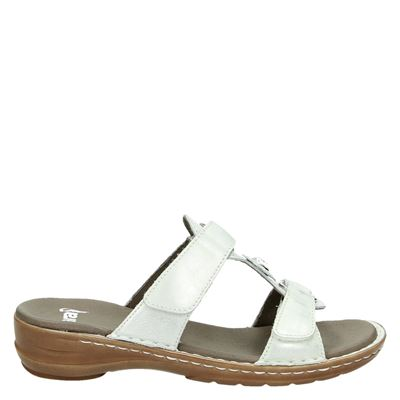 Ara dames slippers zilver