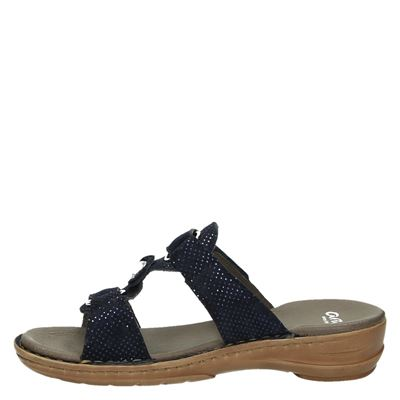 Ara dames slippers Blauw