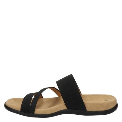 Gabor dames slippers Zwart