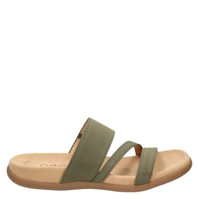 Gabor dames slippers groen