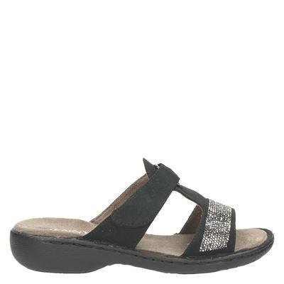 Jenny dames slippers zwart