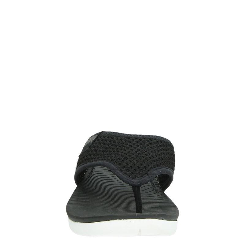 Fitflop Airmesh Toe Post - Slippers - Zwart