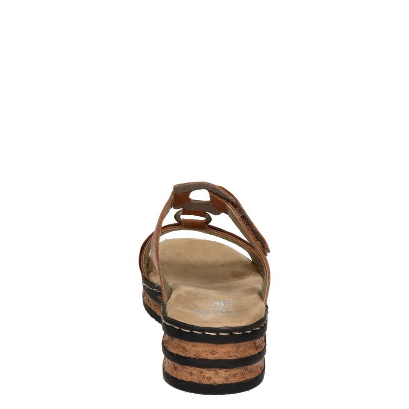 Rieker - Slippers - Cognac