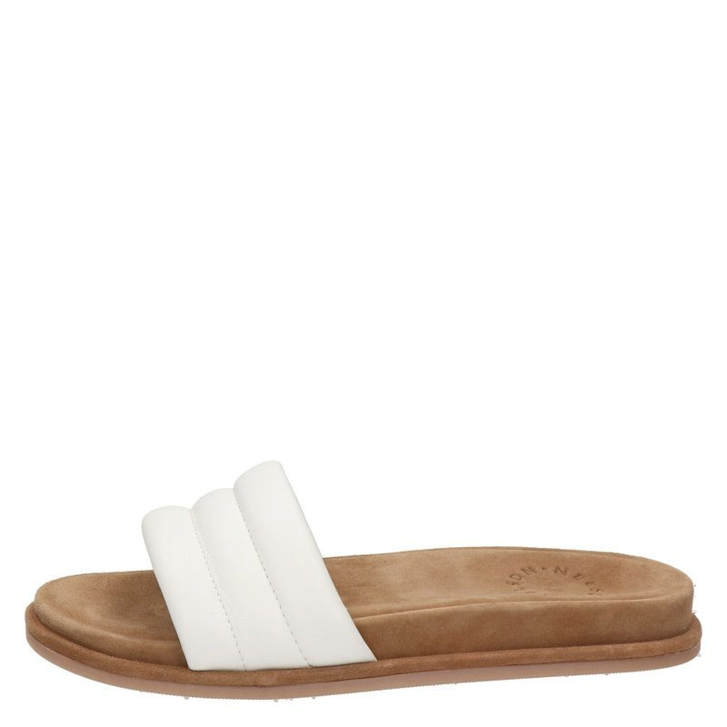 Nelson - Slippers - Wit