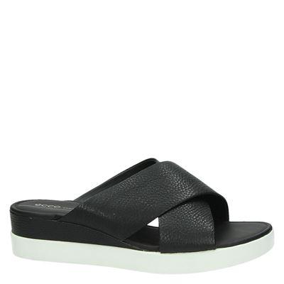 Ecco Touchdames slippers Zwart