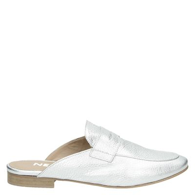 Nelson dames slippers zilver