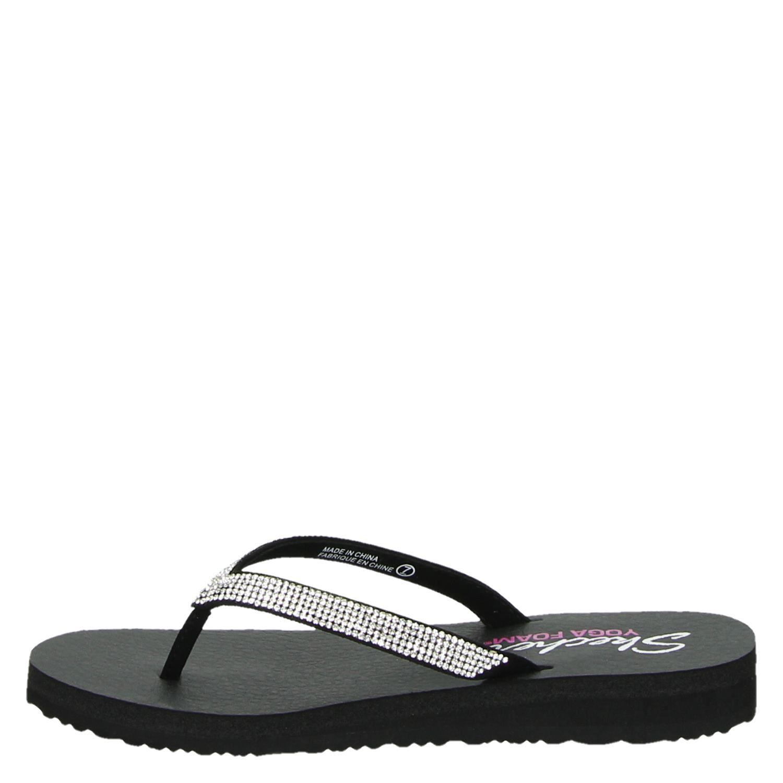Sandales Femmes En Argent - Skechers Q6EoJ