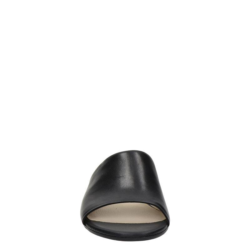 Ecco Flat Sandal - Slippers - Zwart