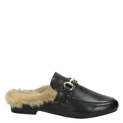 Steve Madden Jilldames mocassins & loafers Zwart