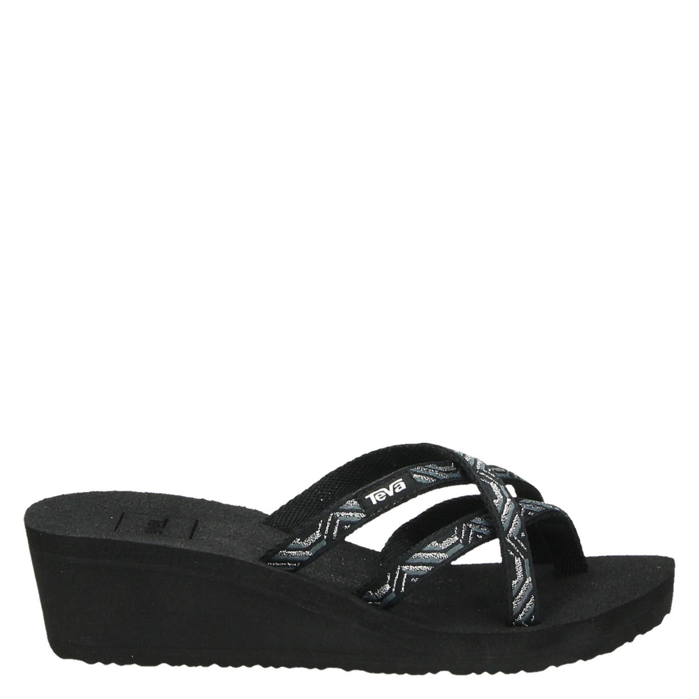 Teva Noir Chaussures Mush IWyvxK
