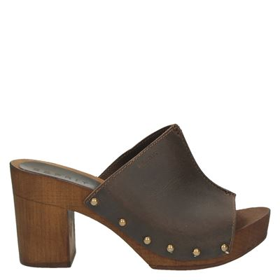 Esprit dames slippers bruin